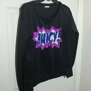 Juicy Couture sweatshirt sz M